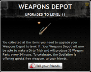 Weapons Depot Level 11