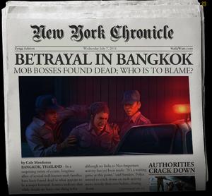 Betrayal In Bangkok Newspaper