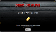 Dead or Alive Boosts
