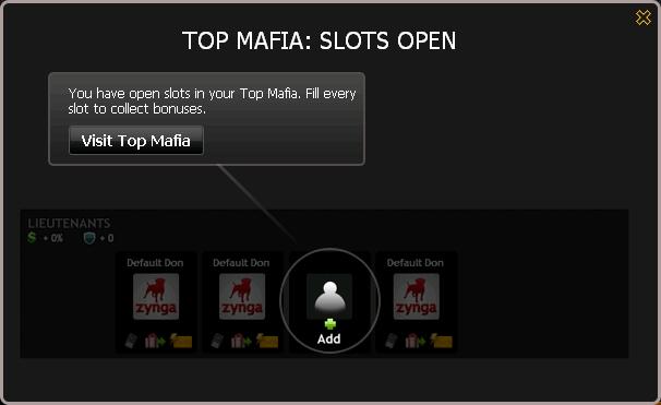 Top Mafia Slots Open