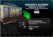 Assassin's Academy Level 15
