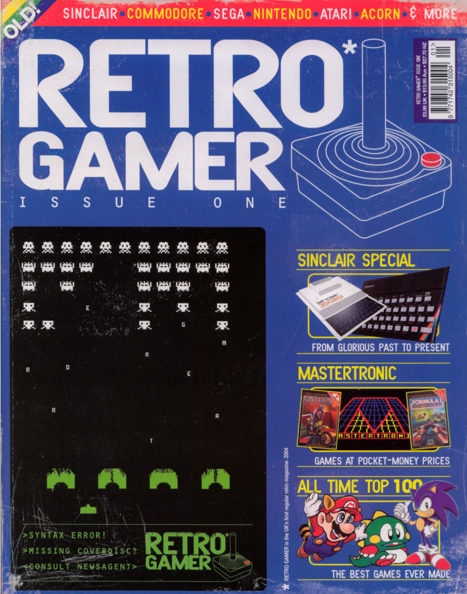 Retro Gamer Issue 1 | Magazines from the Past Wiki | FANDOM powered