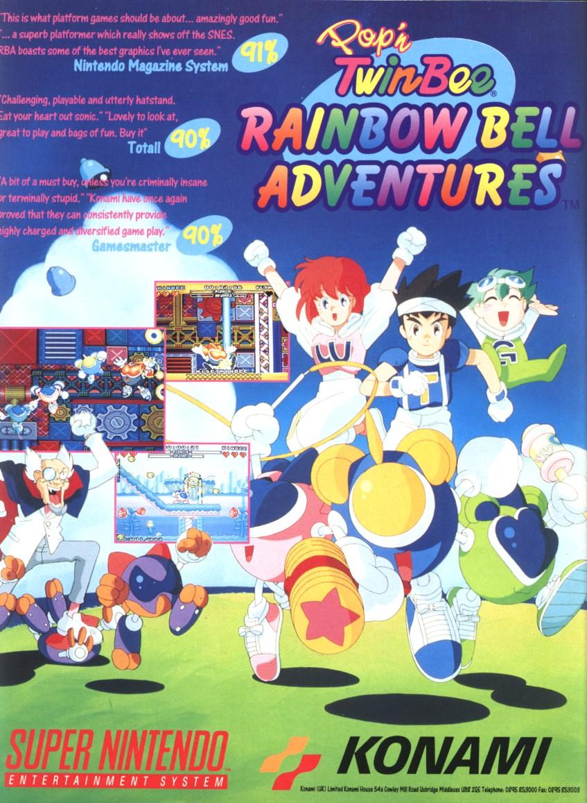 pop u0026 39 n twinbee  rainbow bell adventures