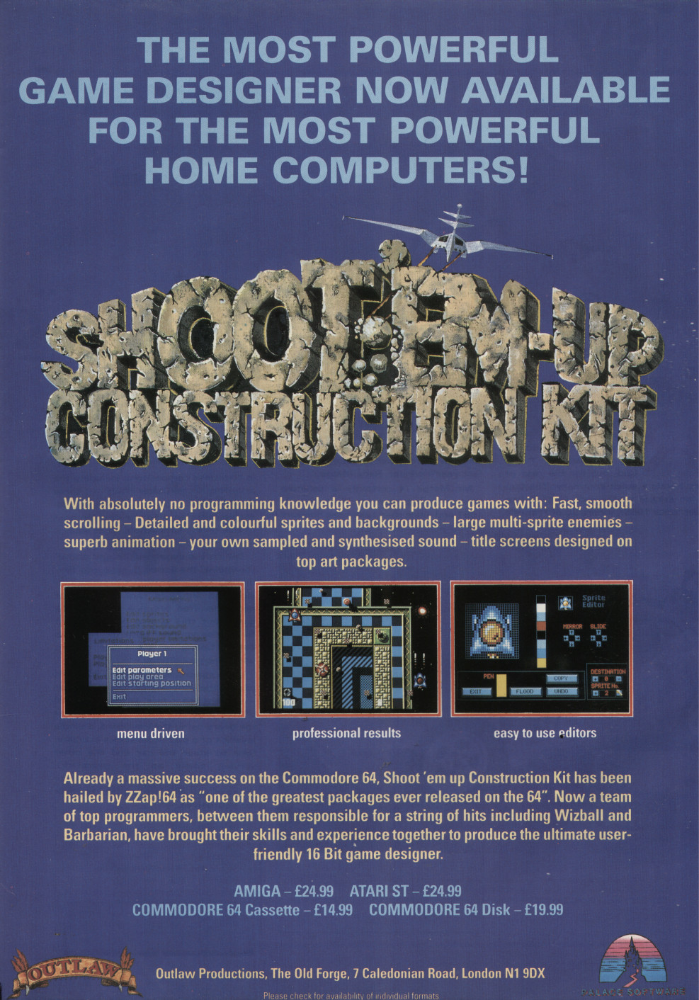 Shoot'em-up Construction Kit | Magazines from the Past Wiki | FANDOM