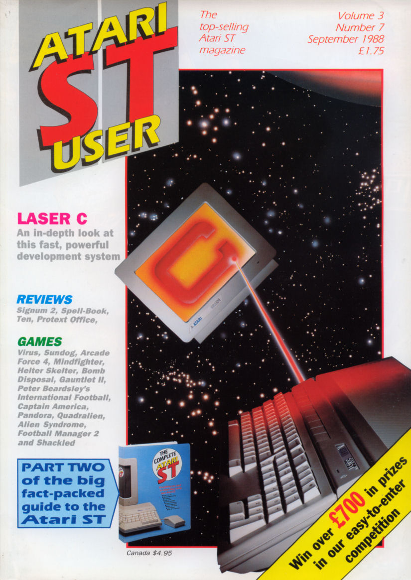 Atari ST User Issue 31 | Magazines from the Past Wiki | FANDOM
