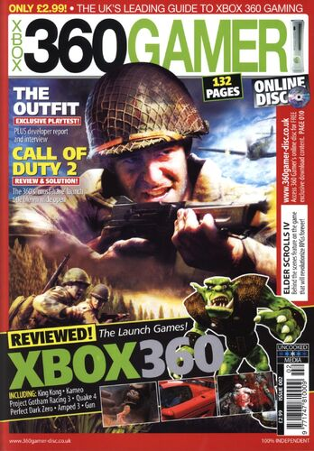 360 Gamer Issue 2 | Magazines from the Past Wiki | FANDOM powered by