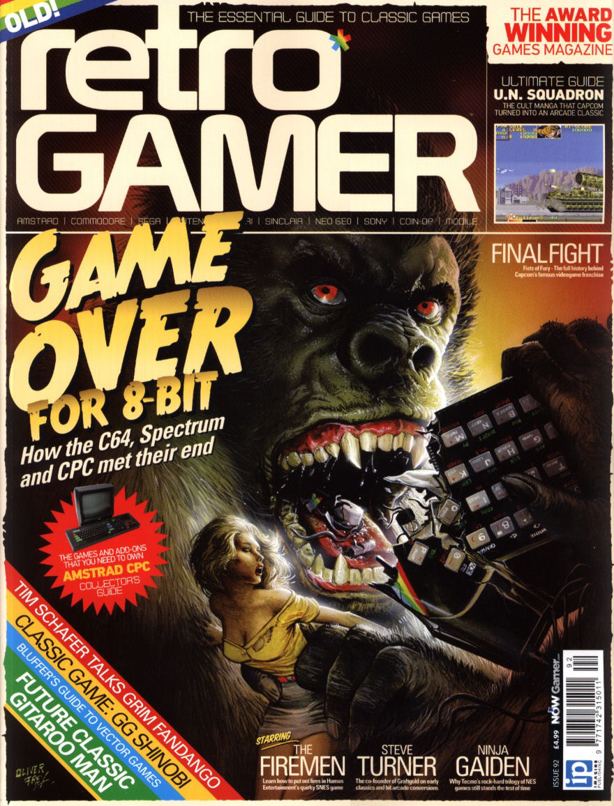 Retro Gamer Issue 92 | Magazines from the Past Wiki | FANDOM