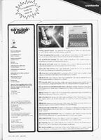 Sinclair User Issue 1 Contents