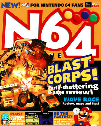 Blast Corps | Magazines from the Past Wiki | Fandom