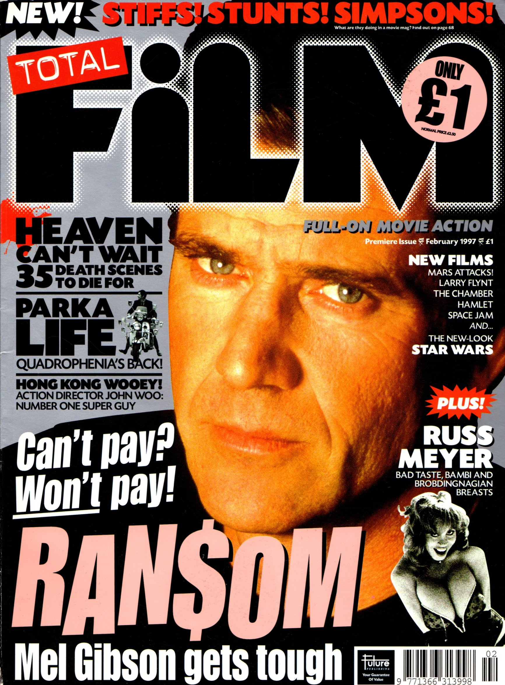 Total Film Issue 1 Magazines From The Past Wiki Fandom Powered