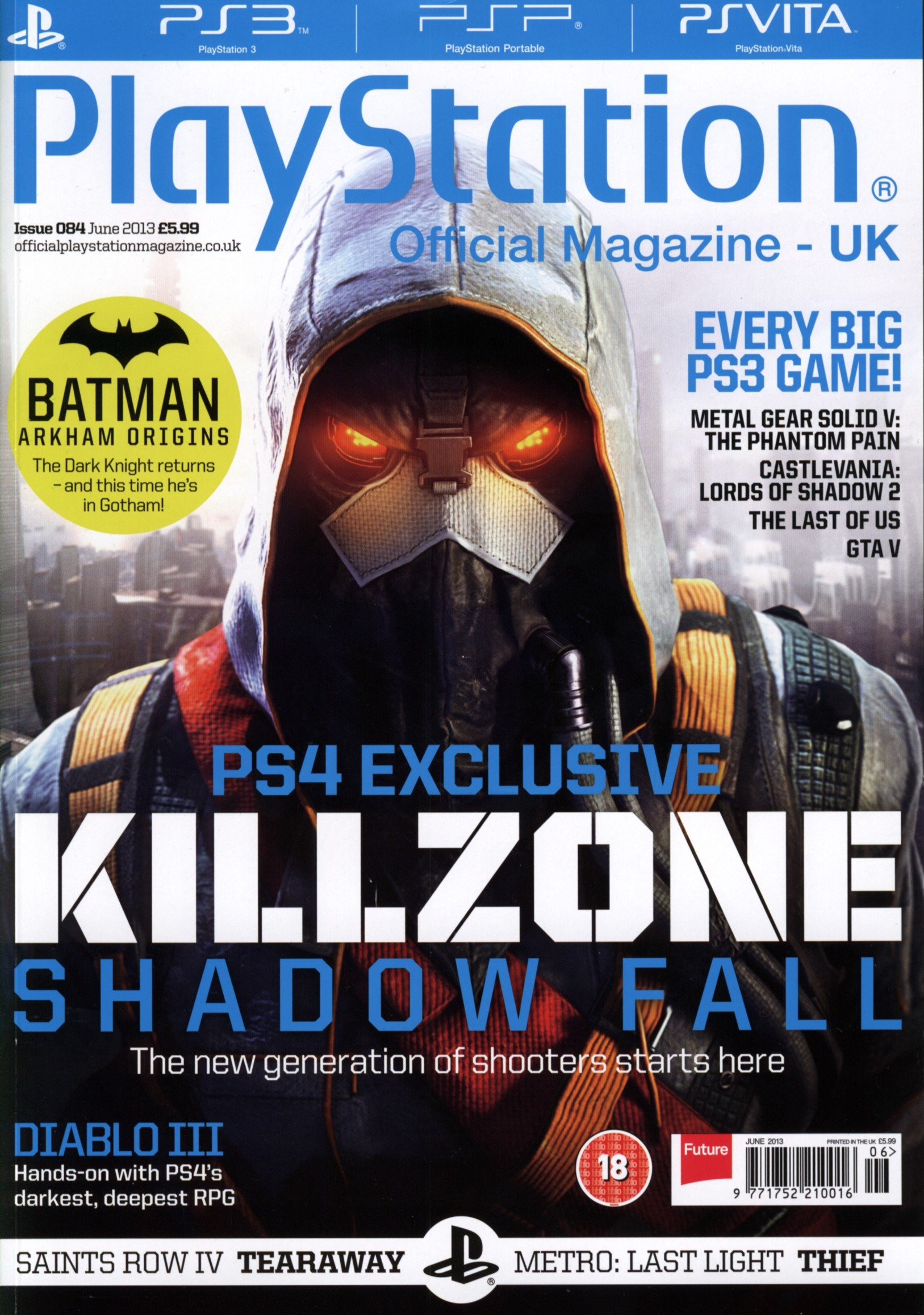 Playstation The Official Magazine Issue 84 | Magazines from