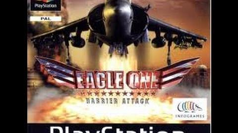 Eagle One Harrier Attack - (PSX) Gameplay