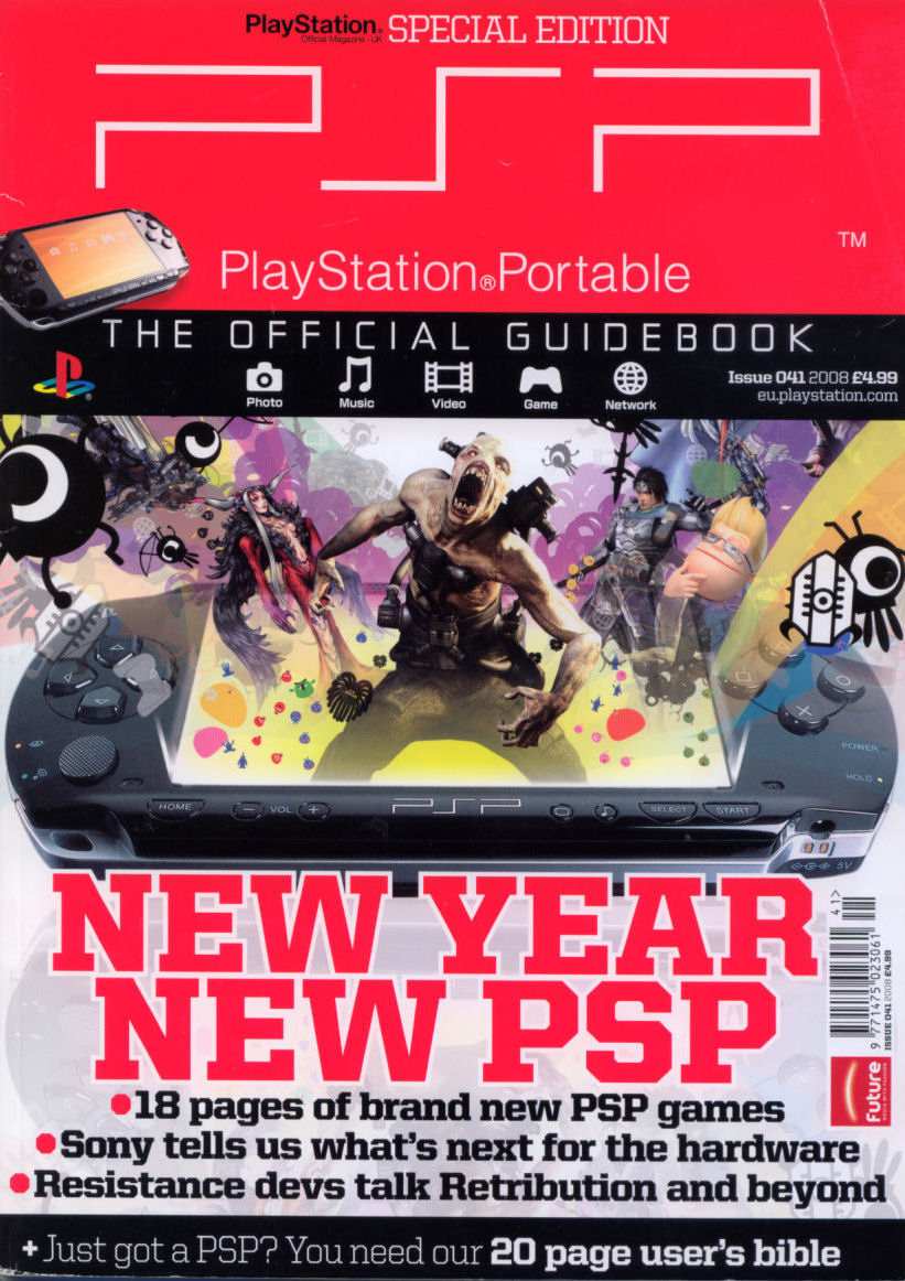 Psp: the official guide book issue 20 | magazines from the past.