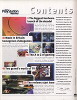 Official PlayStation Magazine Issue 1 Contents 1