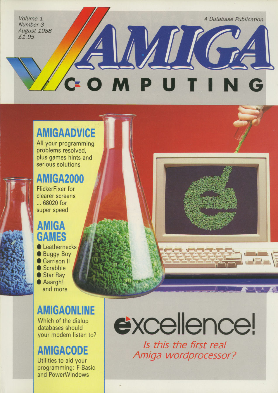 Amiga Computing Issue 3 | Magazines from the Past Wiki | FANDOM