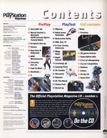 Official PlayStation Magazine Issue 1 Contents 2
