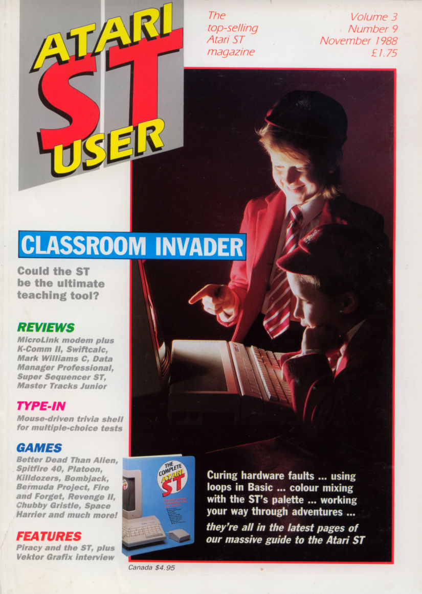 Atari ST User Issue 33 | Magazines from the Past Wiki