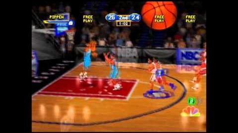 NBA Showtime NBA on NBC - (PSX) Gameplay
