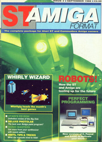 ST Amiga Format Issue 3 | Magazines from the Past Wiki