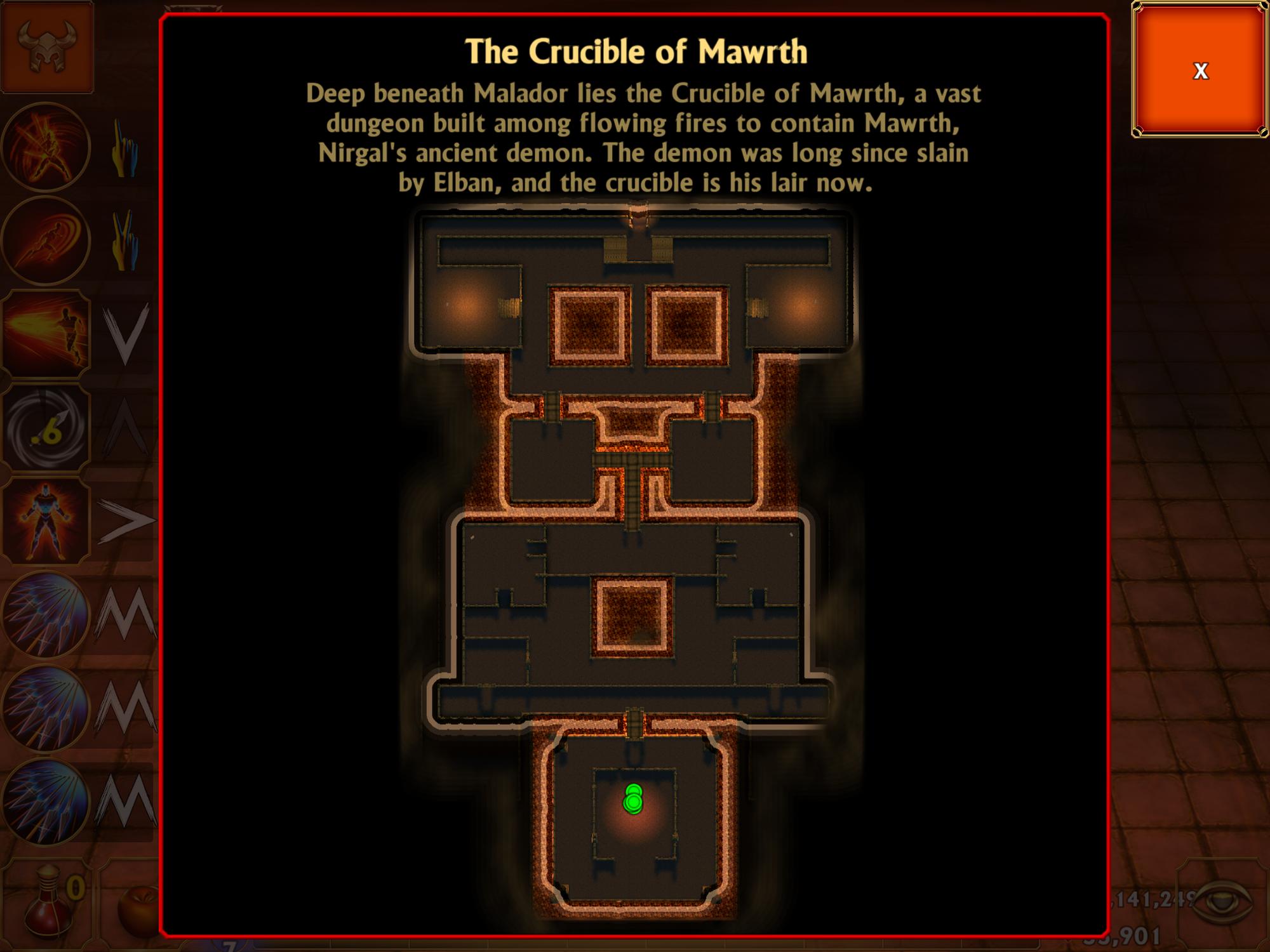 Level 40 - The Crucible of Mawrth   Mage & Minions Wikia
