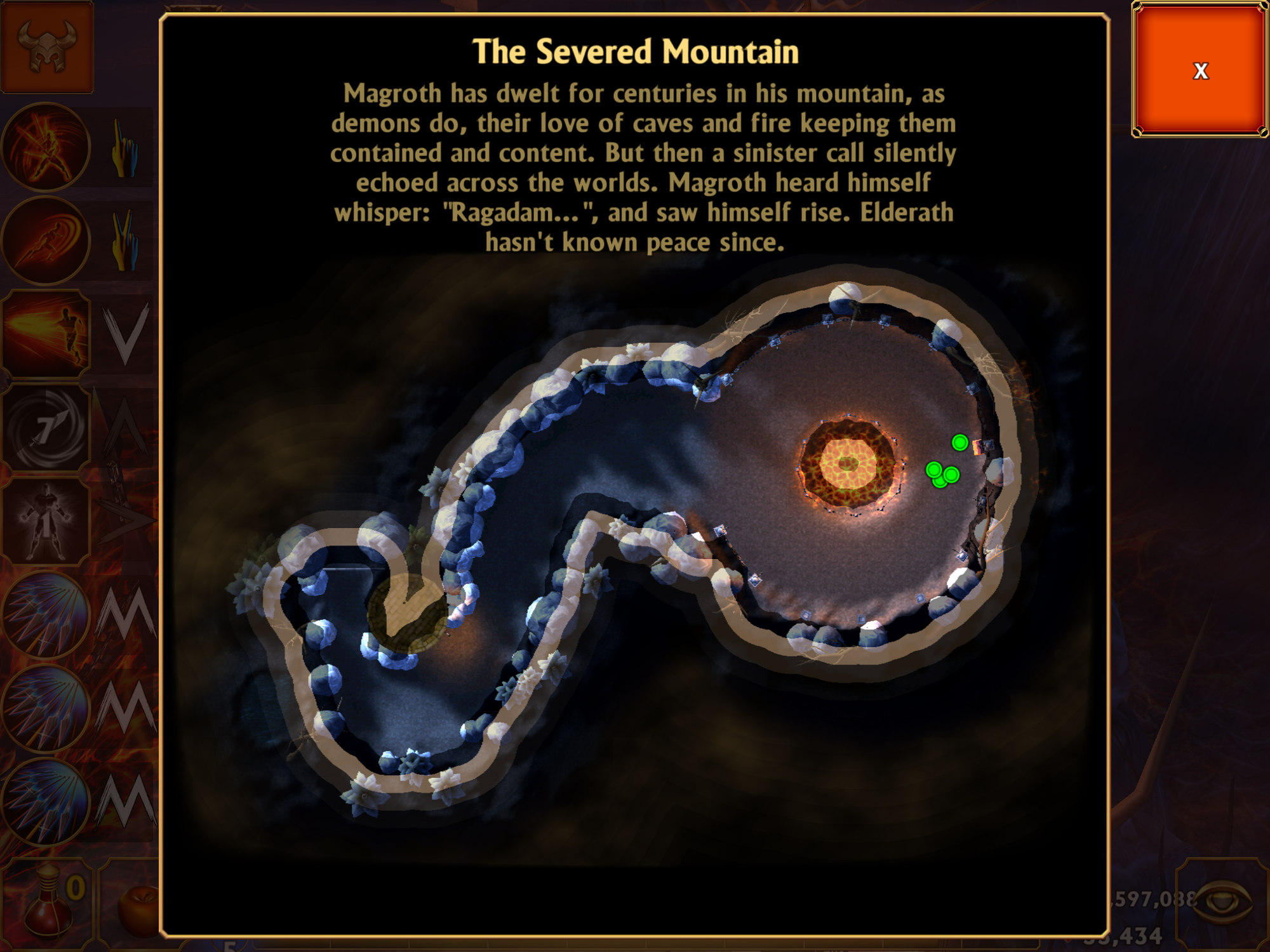 Level 10 - The Severed Mountain | Mage & Minions Wikia | FANDOM