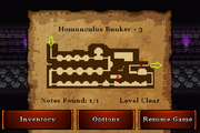 Homunculus Bunker - Gold (notes)