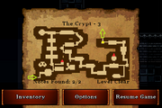 The Crypt - Gold (notes)