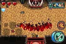 Boarzin - Fireblast (crit)
