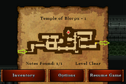 Temple of Blorpx - Bronze (notes)
