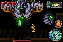 Golem King - Golem Blast