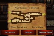 The Gardens - Bronze (notes)