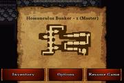 Homunculus bunker 1 master secret