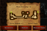 Ruin Crossing - Silver (notes)