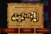 Whitebeard's Tower - Gold (notes)