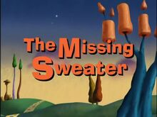 The Missing Sweater