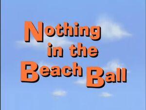 Nothinginabeachball