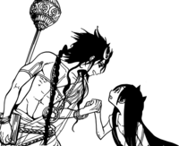 Salomon le dice a Shiba que es una mujer despreciable