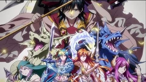 Magi the Kingdom of Magic ED 2 - Djinn Version