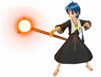 Aratanaru Sekai Aladdin in Magician robe
