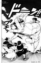 Ugo atrapa a Ryusai