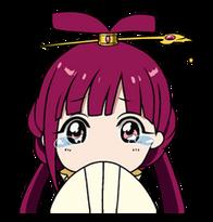 Kougyoku crying Line sticker