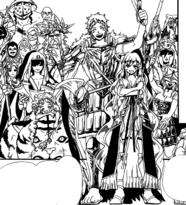 Scheherazade and her friends