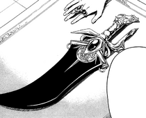 Baba's new sword