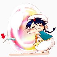 Aladin und die 'Regenbogenperle'