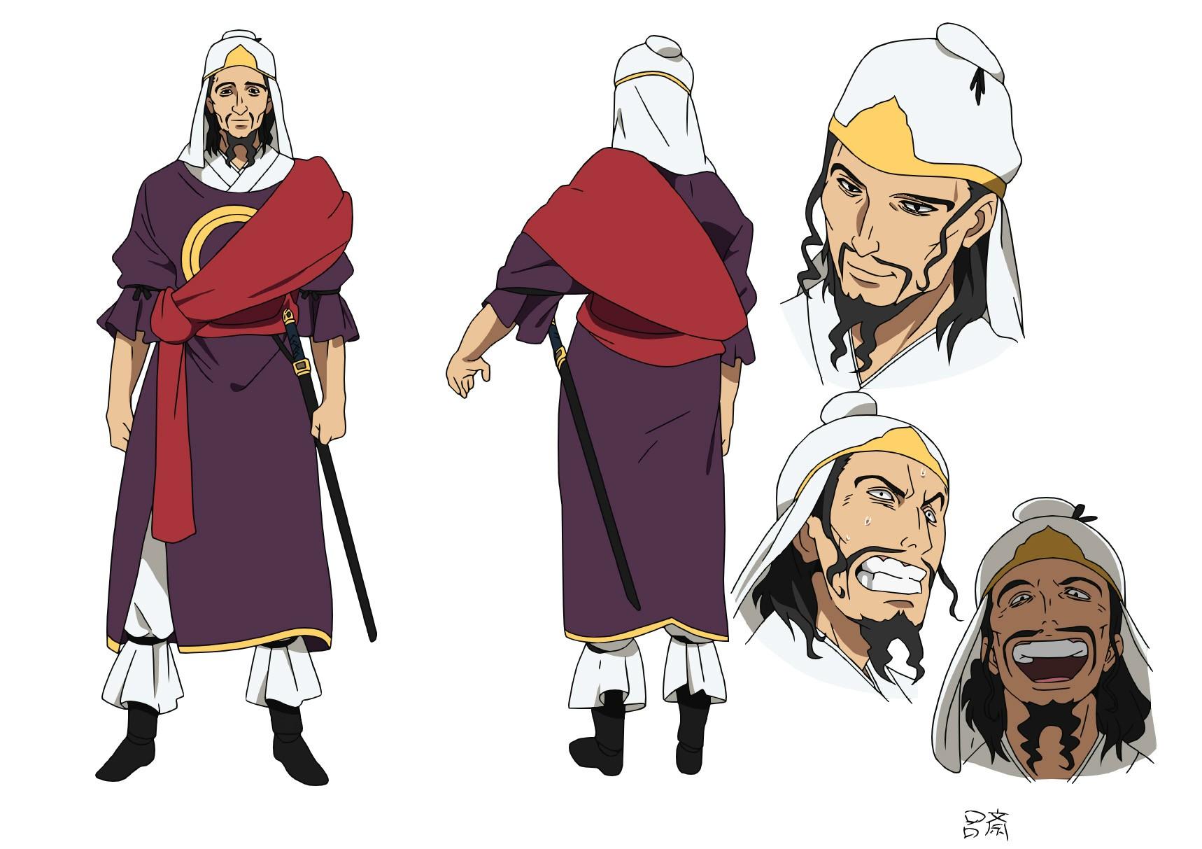 Character Design Wiki : Image ryosai character design magi wiki fandom