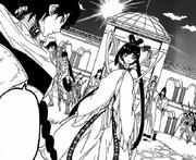 Kougyoku aparece ante Judar