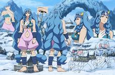 Rurumu's design anime