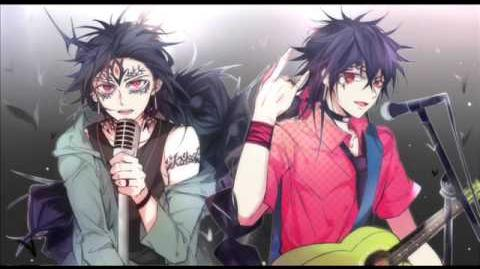 THE BLACK- Judal & Hakuryuu song
