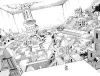 Nekropolis, die Stadt der Toten