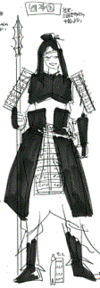 Kou's soldier costume